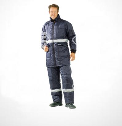 Hűtőházi kabát, kék, S-es