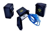 Safety First Szilikon Füldugó kék tárolódobozzal szett