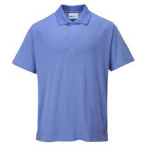 Antisztatikus ESD pólóing világoskék L