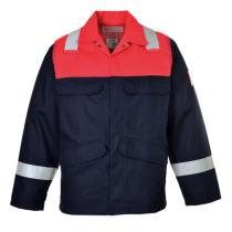 BIZFLAME PLUS lángálló kabát navy/piros 4XL