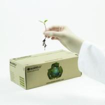 ecoSHIELD Eco Latex PF250 mv kesztyű pm 100db/doboz XS