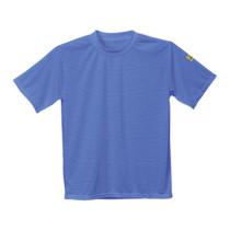Antisztatikus ESD póló világoskék L