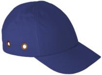 Fejvédős baseball sapka kék