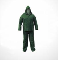 Safety First PVC esőöltözet (nadrág+kabát) zöld