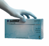 duoSHIELD ICE NITRILE 240 vizsgálókesztyű pm 100db/doboz XS