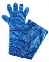 Inszemináló kesztyű 90 cm kék