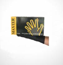 MAXTER Nitril FEKETE púdermentes 5,5gr vizsgálókesztyű