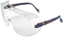 3M 2800 Szemüvegre vehető,víztiszta,karcálló,állítható szár+lencse