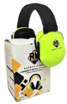 Safety First Fültok párnázott ABS sárga
