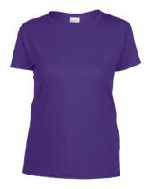 Póló Gildan 5000 női, környakas, pamut, lilac, 2XL