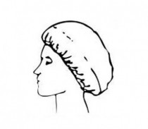 Chicopee Perforated hajháló, 22 gr átm: 50 v.kék 100 db/csom