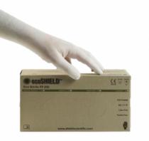 ecoSHIELD Eco Nitrile PF 250 mv kesztyű pm 150db/doboz XS
