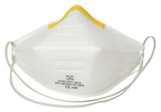 Sup Air FFP1SL NR D szelepes, csésze formájú pormaszk 20 db/doboz